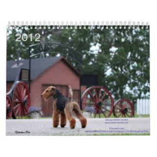 De Welse Kalender van Terrier 2012 door Darwyn