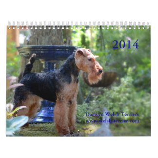 De Welse Kalender van Terrier 2014 door Darwyn