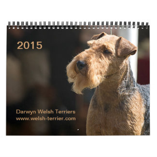 De Welse Kalender van Terrier 2015 door Darwyn