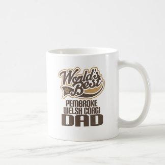 De Welse Papa Corgi van Pembroke (Beste Werelden) Koffiemok