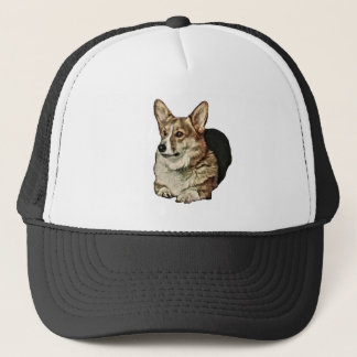 De Welse Zitting Corgi van Tricolor Trucker Pet