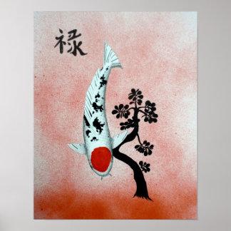 De welvaart van de Jade van Tancho van Koi het Poster