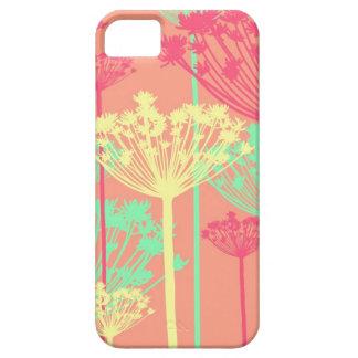 De wens van de paardebloem bloeit girly bloemenpat barely there iPhone 5 hoesje