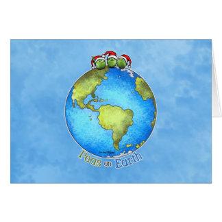 De Wens van Kerstmis - Vrede ter wereld Wenskaart