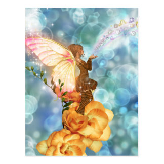De Wensen van de fee Briefkaart