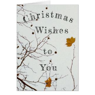 De Wensen van Kerstmis Briefkaarten 0
