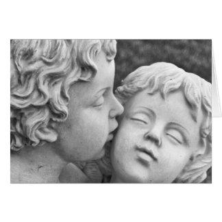 De Wenskaarten van de engel