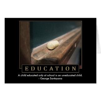 De Wenskaarten van het onderwijs