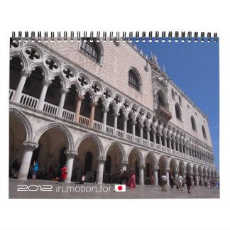 De wereld in afbeeldingen 2012 (InMotionForJapan) Kalender
