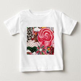 """""""De Wereld van de Pepermunt van Mej. Elizabeth """" Baby T Shirts"""
