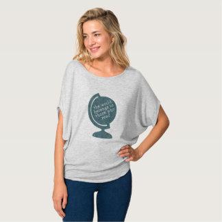De Wereld van de t-shirt behoort tot zij die Blauw