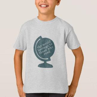 De Wereld van de T-shirt van het kind behoort tot