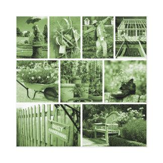 De wereld van de tuinman canvas afdrukken