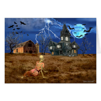De Wereld van Halloween van Christina Kaart