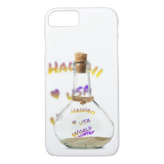 De wereldstad van Hawaï, de Fles van het Water iPhone 8/7 Hoesje