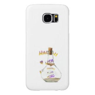 De wereldstad van Hawaï, de Fles van het Water Samsung Galaxy S6 Hoesje