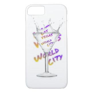 De wereldstad van Las Vegas, het Glas van het iPhone 8/7 Hoesje