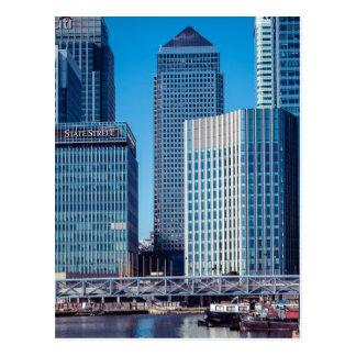 De Werf van de Kanarie van Londen Briefkaart