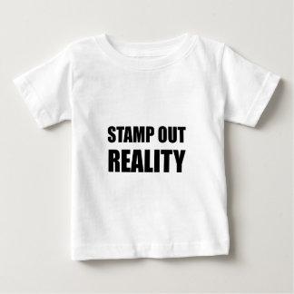 De Werkelijkheid van de zegel uit Baby T Shirts