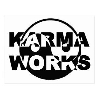 De Werken van Karma Briefkaart