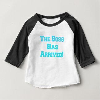 De werkgever baby t shirts
