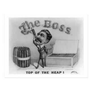 De werkgever - Bovenkant van de Hoop! Briefkaart