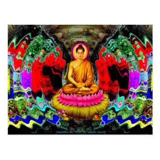 De Werveling van Boedha - Briefkaart