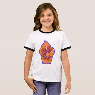 De werveling van Cupcake T Shirts