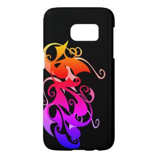 De Werveling van de regenboog (de Melkweg van Samsung Galaxy S7 Hoesje