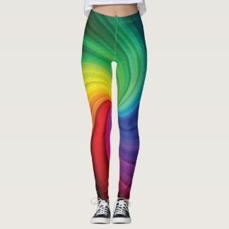 De Werveling van de regenboog Leggings