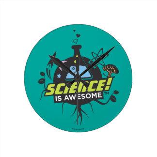 De wetenschap is Geweldige Ronde Klok