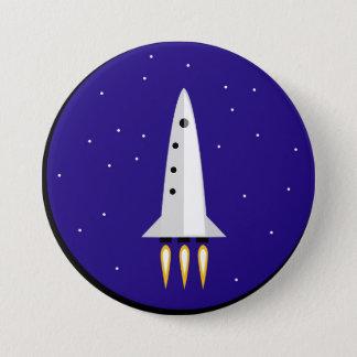 De Wetenschap van de raket Ronde Button 7,6 Cm