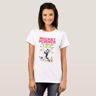 De Wetenschap van de raket zo gemakkelijk zoals T Shirt