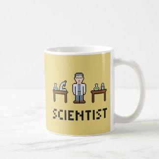 De Wetenschapper van het pixel Koffiemok