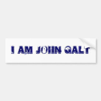DE WGO IS JOHN GALT BUMPERSTICKER
