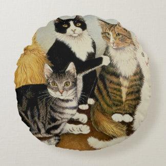 De Wieg van de kat Rond Kussen