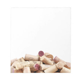De wijn kurkt Blocnote