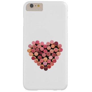 De wijn kurkt iPhone 6 van het Hart plus Hoesje
