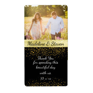 De Wijn van het huwelijk, Gouden Confettien, de Etiket