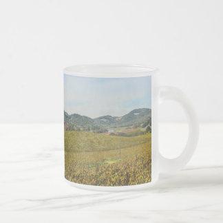 De Wijngaard van Californië van de Vallei van Napa Matglas Koffiemok