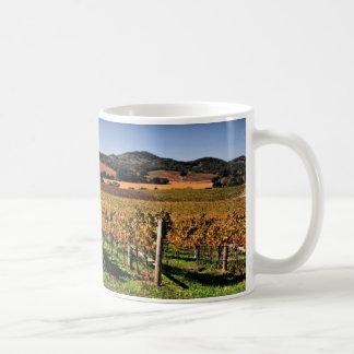 De Wijngaard van de Vallei van Napa Koffiemok