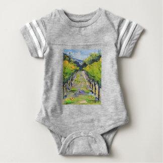 De wijnmakerij van Californië, de wijnstokken van Baby Bodysuit