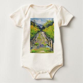 De wijnmakerij van Californië, de wijnstokken van Baby Shirt