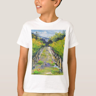 De wijnmakerij van Californië, de wijnstokken van T Shirt