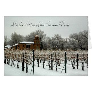De Wijnmakerij van Rodena van Casa in de Winter Kaart