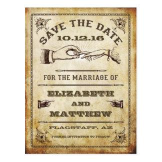 De wijnoogst bewaart het Briefkaart van de Datum