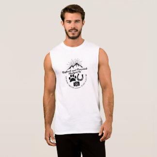 De Wijnoogst Sleeveless Hoofbeats en Pawprints van T Shirt