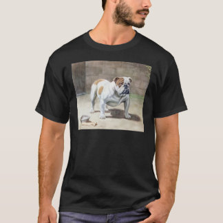 De Wijnoogst van de buldog T Shirt