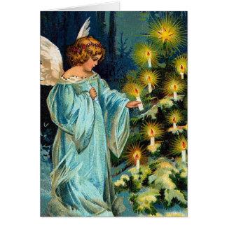 """De Wijnoogst van de """"engel en van de Kerstboom"""" Briefkaarten 0"""