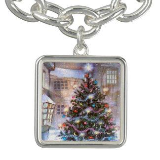 De Wijnoogst van de kerstboom Armband